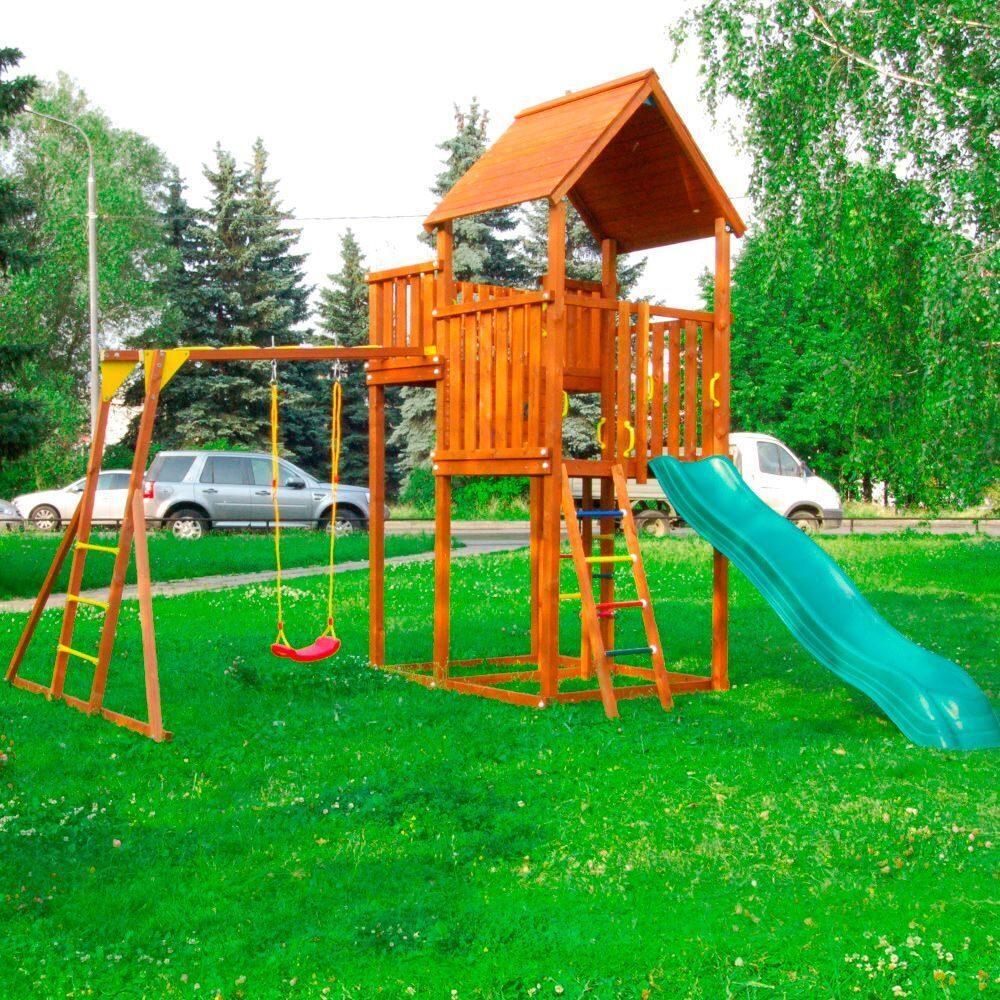 Детская площадка для малышей на даче своими руками фото