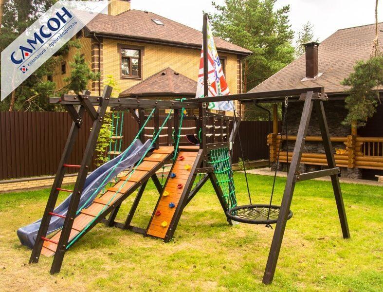 Детская площадка для дачи деревянная