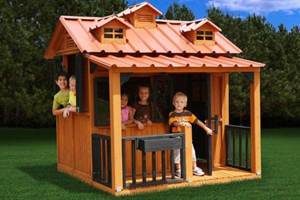 Уличные домики для детей